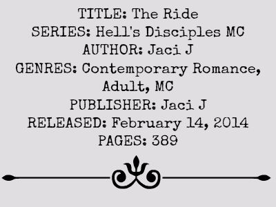 The Ride Hells Disciples MC Series Book 1