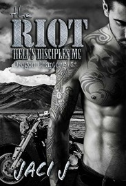 The Riot (Hell's Disciples MC Series, Book #5) by Jaci J | Review on www.bxtchesbeblogging.com