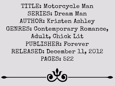 Motorcycle Man (Dream Man Series)