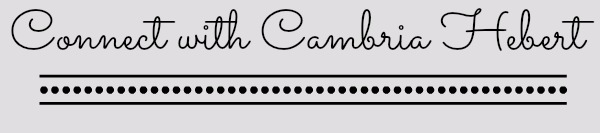 Cambria Hebert Tag