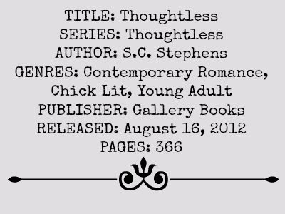 Thoughtless (Thoughtless Series)
