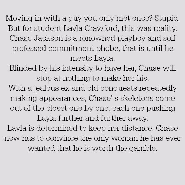 Chase (Resisting Love Synopsis)