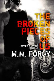 The Broken Pieces of Us (Devil's Dust MC #2.1) review on www.bxtchesbeblogging.com