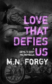 Love That Defies Us (Devil's Dust MC #2.2) review on www.bxtchesbeblogging.com