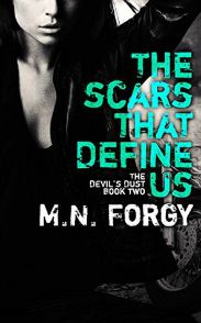 The Scars That Define Us (Devil's Dust MC #2) review on www.bxtchesbeblogging.com