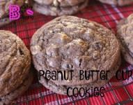 Peanut Butter Cup Cookies | Recipe on www.bxtchesbeblogging.com