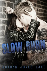 Slow Burn (Lost Kings MC Series, Book #1) by Autumn Jones Lake | Review on www.bxtchesbeblogging.com
