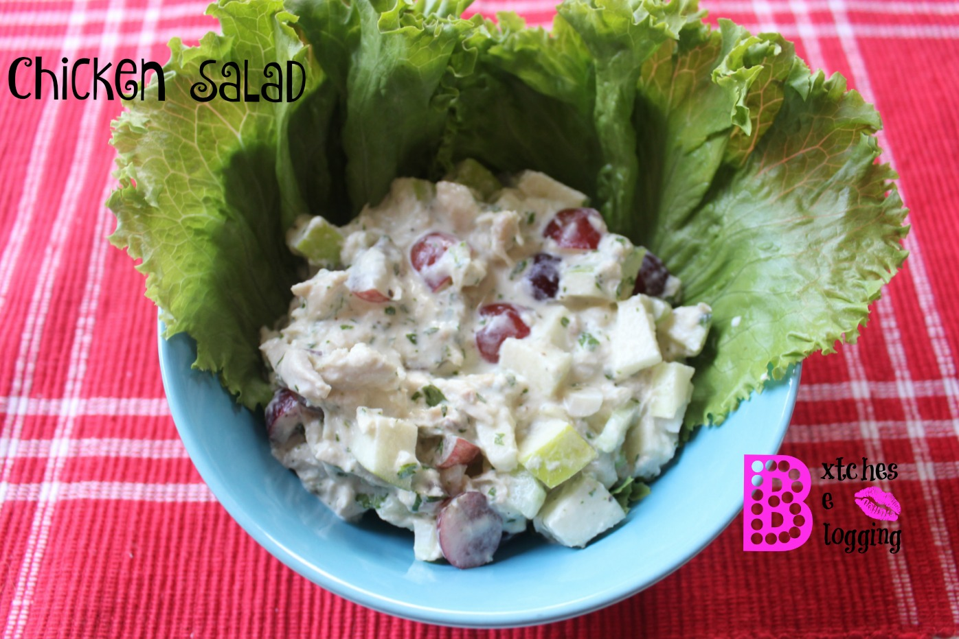 Chicken Salad | Recipe on www.bxtchesbeblogging.com