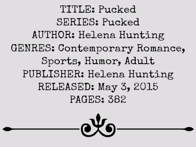 Pucked (Pucked Series, Book #1) by Helena Hunting | Review on www.bxtchesbeblogging.com