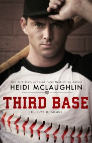 Third Base (The Boys of Summer, Book #1) by Heidi McLaughlin | Review on www.bxtchesbeblogging.com