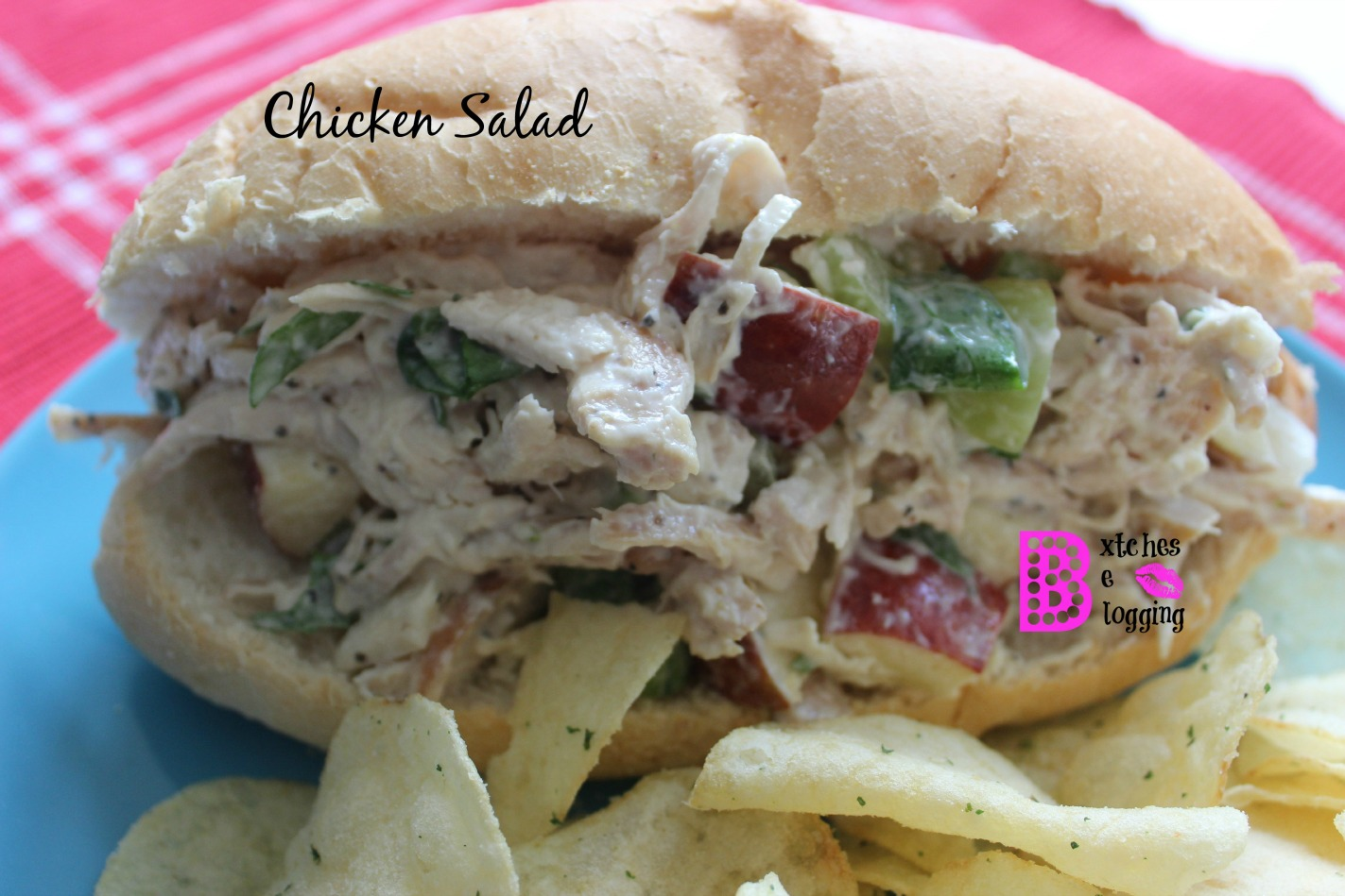 Another Chicken Salad | Recipe on www.bxtchesbeblogging.com