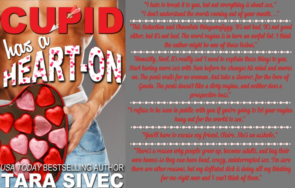 Cupid Has a Heart-On (The Holidays, Book #1) | Review on www.bxtchesbeblogging.com