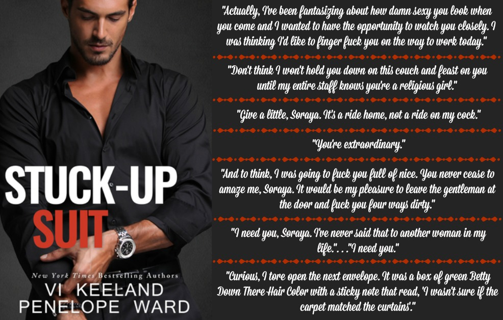 Stuck-Up Suit by Penelope Ward and Vi Keeland | Review on www.bxtchesbeblogging.com