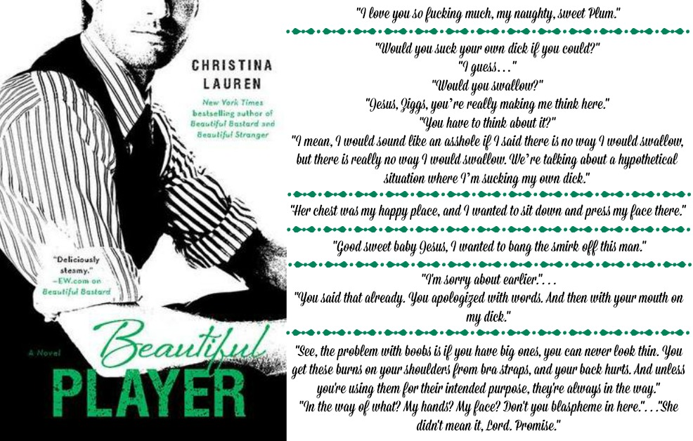 Beautiful Player (Beautiful Series, Book #5) by Christina Lauren | Review on www.bxtchesbeblogging.com