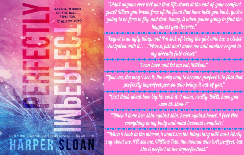 Perfectly Imperfect by Harper Sloan | Review on www.bxtchesbeblogging.com