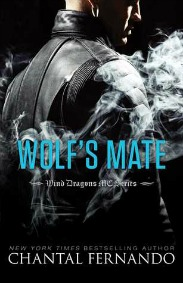 Wolf's Mate (Wind Dragons MC Series, Book #5) by Chantal Fernando | Review on www.bxtchesbeblogging.com