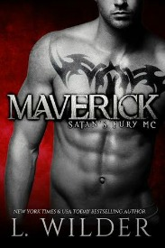 Maverick (Satan's Fury MC Series, Book #1) by L. Wilder | Review on www.bxtchesbeblogging.com
