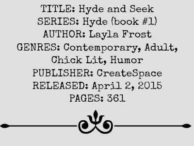 Hyde and Seek (Hyde Series, Book #1) by Layla Frost | Review on www.bxtchesbeblogging.com