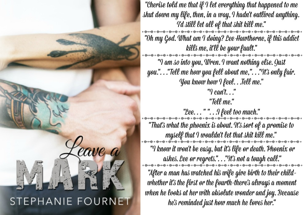 Leave A Mark by Stephanie Fournet | Review on www.bxtchesbeblogging.com