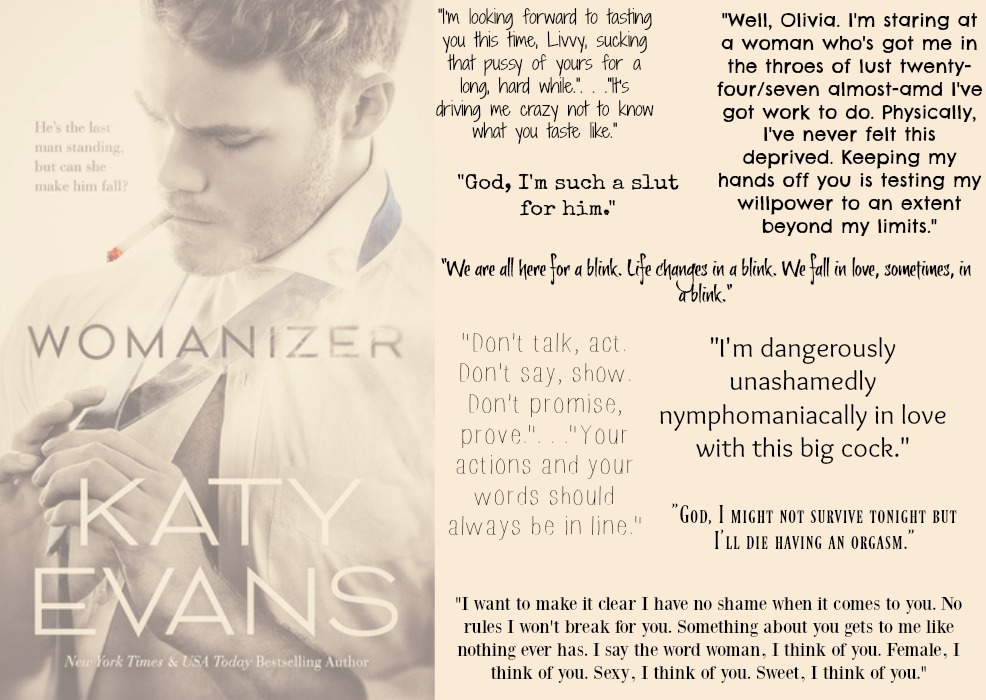 Womanizer (Manwhore Series, Book #4) by Katy Evans | Review on www.bxtchesbeblogging.com