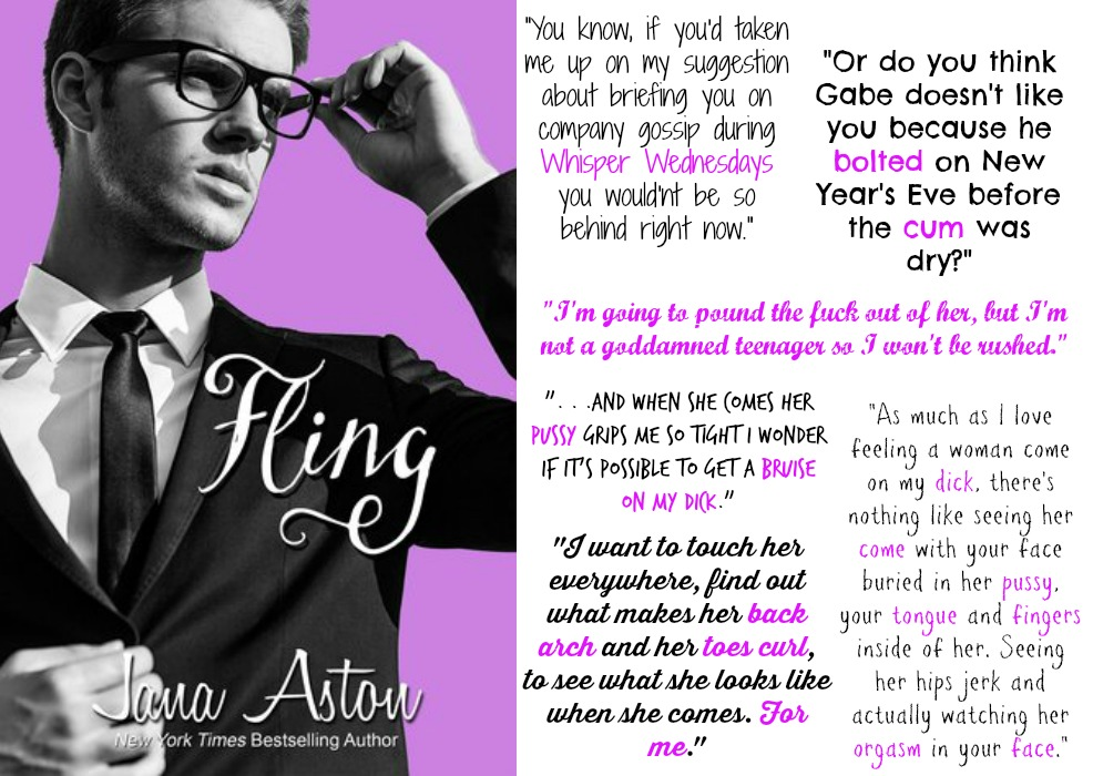 Fling (Cafe Series, Book #2.5) by Jana Aston | Review on www.bxtchesbeblogging.com