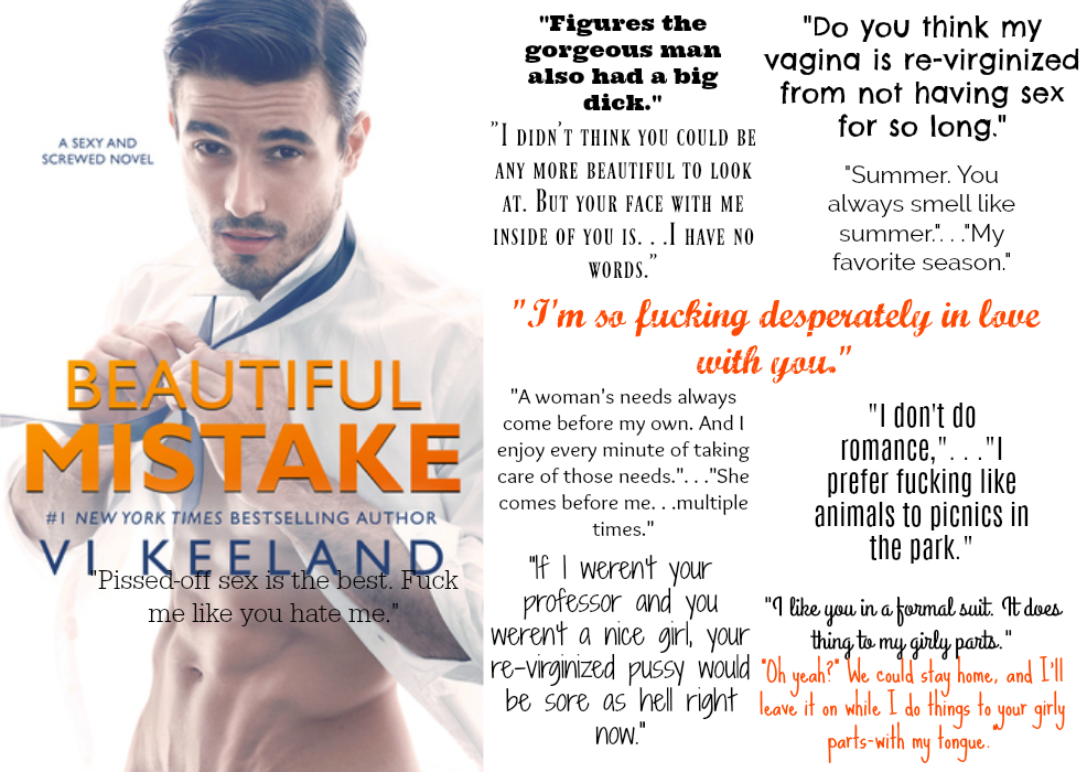 Beautiful Mistake by Vi Keeland | Review on www.bxtchesbeblogging.com