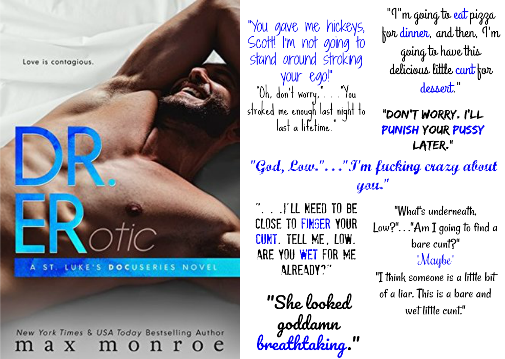 Dr. ER (St. Luke's Docuseries, Book #2) by Max Monroe | Review on www.bxtchesbeblogging.com