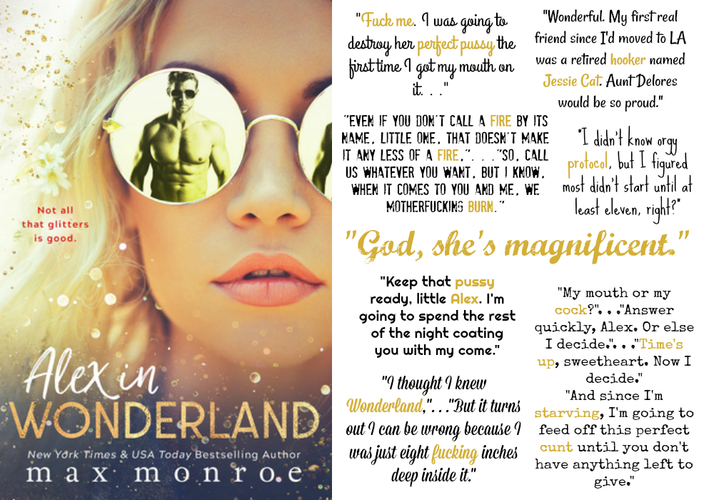 Alex in Wonderland by Max Monroe | Review on www.bxtchesbeblogging.com