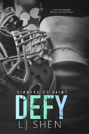 Defy (Sinners of Saints Series, Book #2) by L.J. Shen | Review on www.bxtchesbeblogging.com