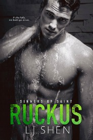 Ruckus (Sinners of Saints Series, Book #3) by L.J. Shen | Review on www.bxtchesbeblogging.com