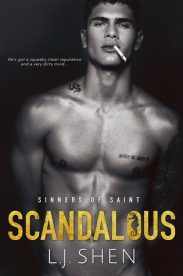 Scandalous (Sinners of Saints Series, Book #4) by L.J. Shen | Review on www.bxtchesbeblogging.com
