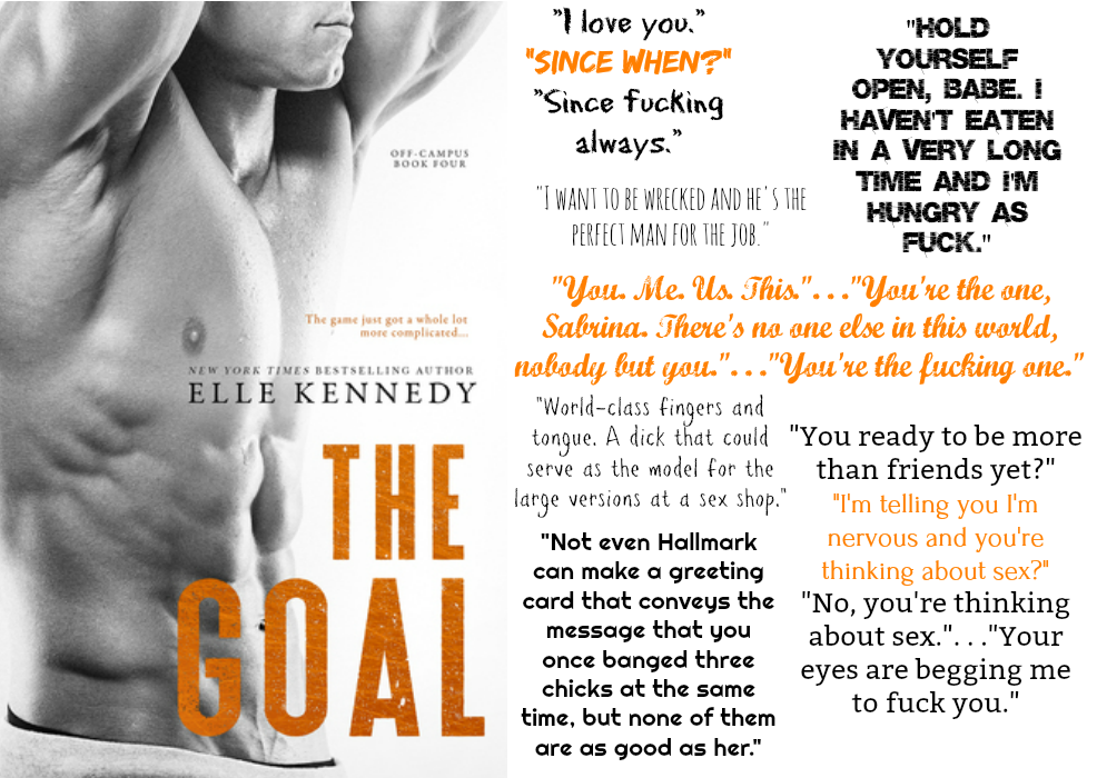 The Goal (Off-Campus Series, Book #4) by Elle Kennedy | Review on www.bxtchesbeblogging.com
