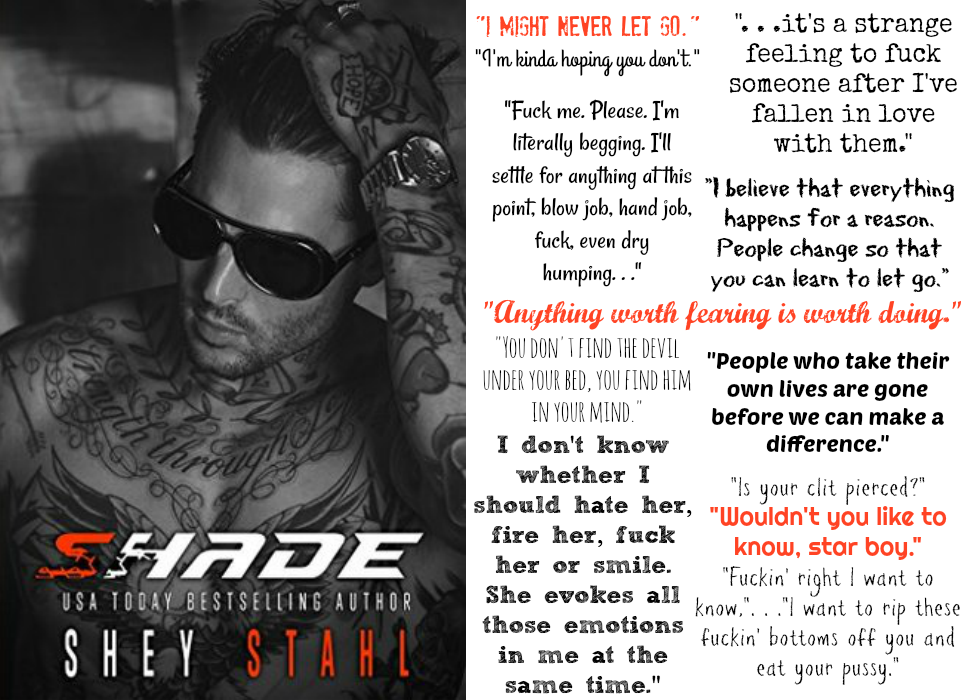 Shade by Shey Stahl | Review on www.bxtchesbeblogging.com